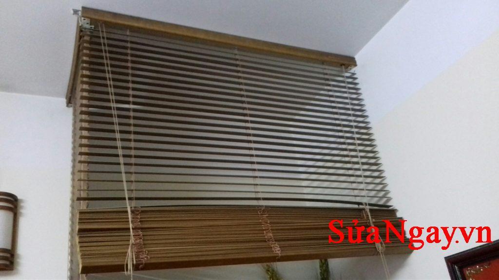 sửa chữa rèm gỗ giá hợp lý