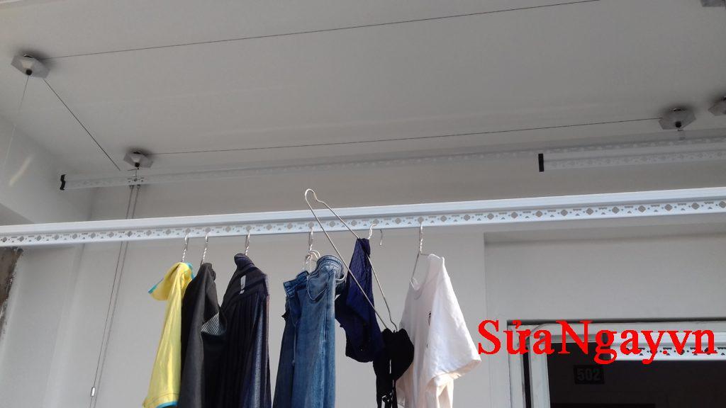 dây phơi đem đến cho ta việc phơi đồ gọn gàng ngăn lắp, tiết kiệm được không gian sống