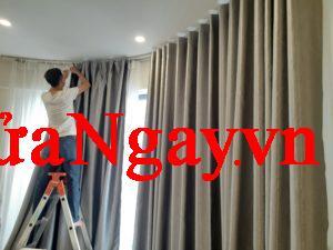 nhận thi công tháo lắp rèm cửa